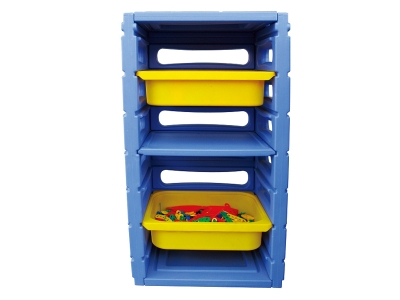 Disassemble plastic toy cabinet