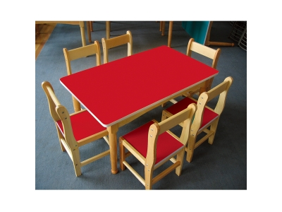 Korean tables and chairs
