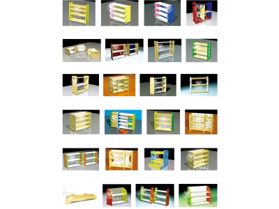 Toy cabinet series