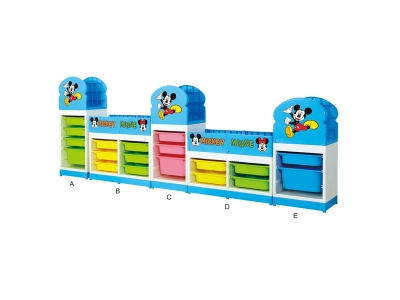 Mickey Mouse toy cabinet (4)
