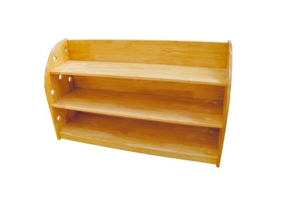 Solid wood toy cabinet (2)