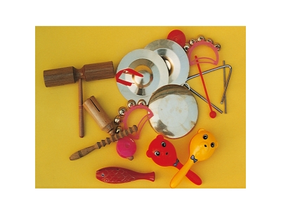 9 percussion instruments