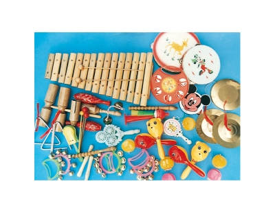 32 percussion instruments